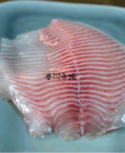 鯛魚柳刺身 Tilapia Fillet