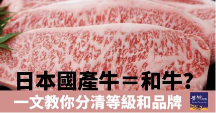 日本和牛基礎知識